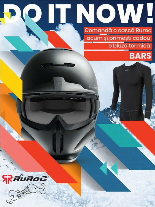 Casca Ruroc RG1-DX Chaos Ice 6