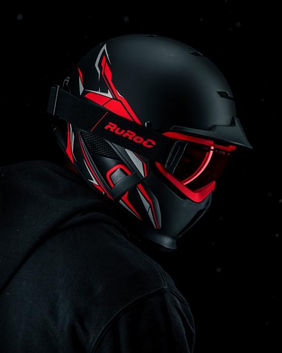 Casca Ruroc RG1-DX Chaos Inferno 2
