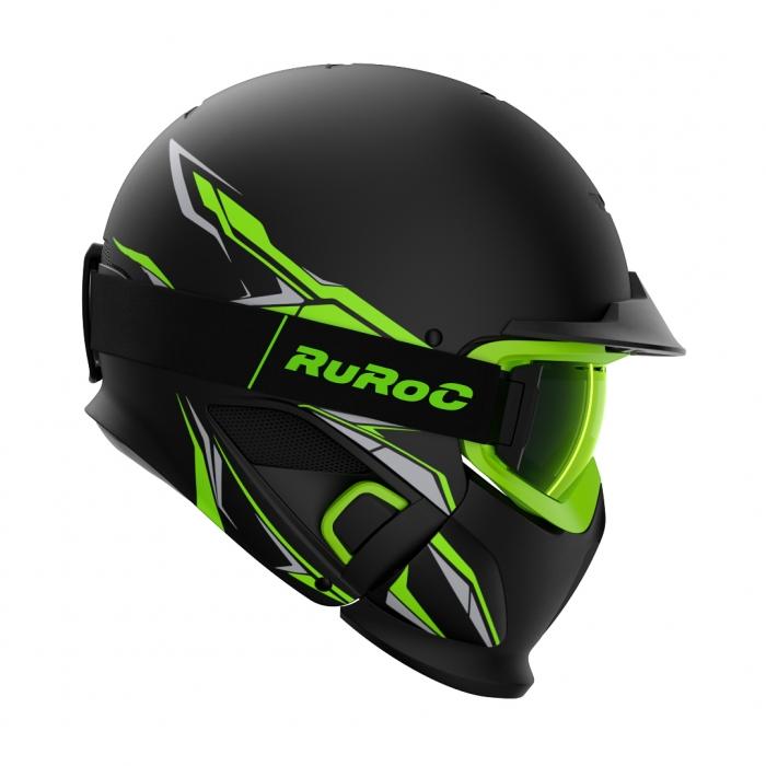 Casca Ruroc RG1-DX Chaos Viper 0