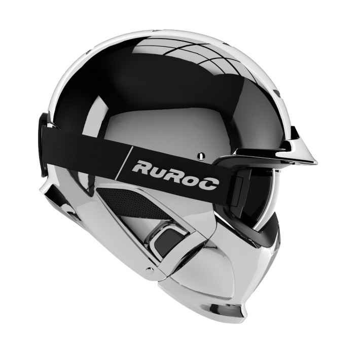 Casca Ruroc RG1-DX Chrome 0