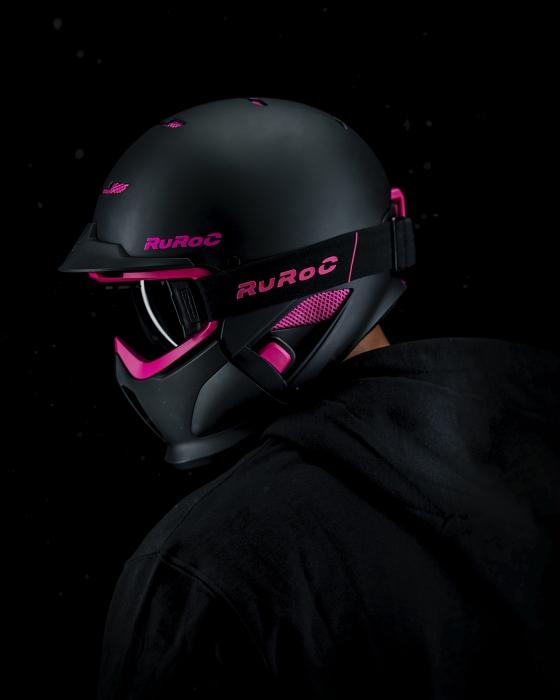 Casca Ruroc RG1-DX Panther 2