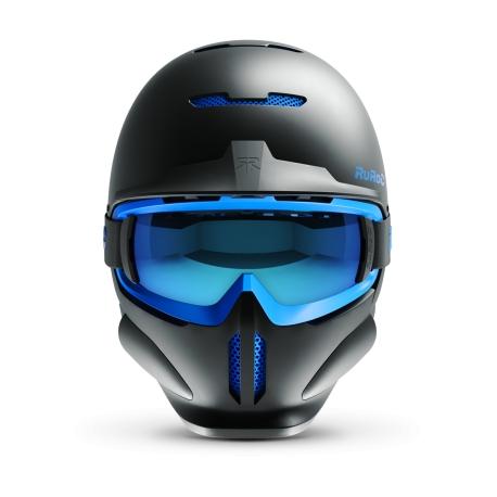 Casca fullface Ruroc RG1-DX Black Ice 1