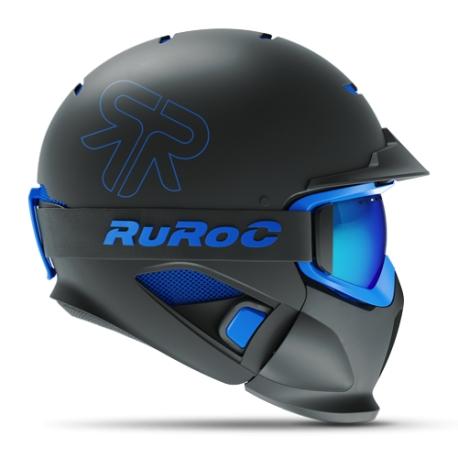 Casca fullface Ruroc RG1-DX Black Ice 0