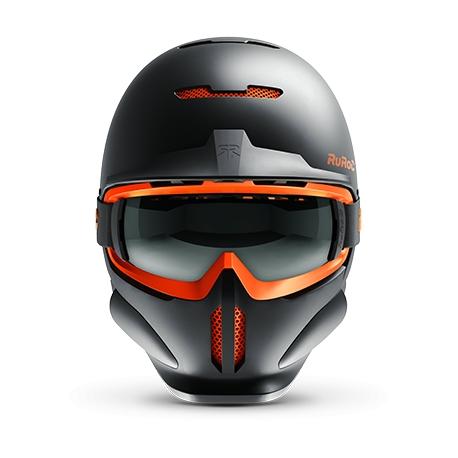 Casca Ruroc RG1-DX Black Nova 2
