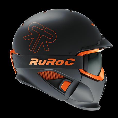 Casca Ruroc RG1-DX Black Nova 0