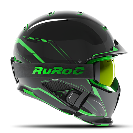 Casca Ruroc RG1-DX Chaos Viper