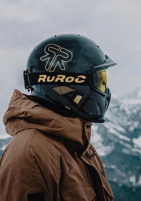 Casca Ruroc RG1-DX Titan